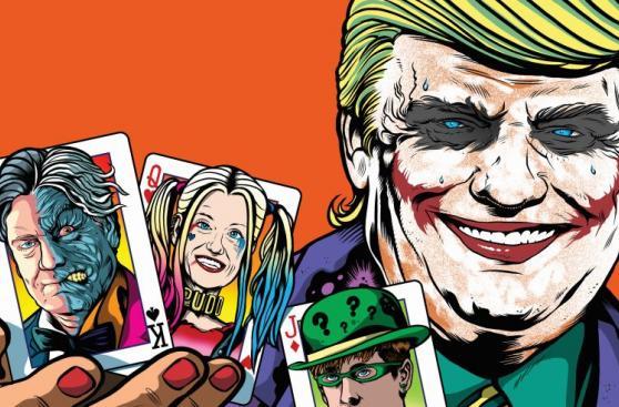 Trump: 50 caricaturas de sus primeros 100 días en el poder