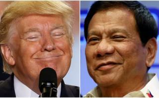 Donald Trump invita al presidente de Filipinas a la Casa Blanca