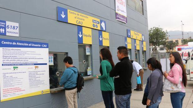 Metropolitano: tarjeta universitaria vigente hasta 30 de junio
