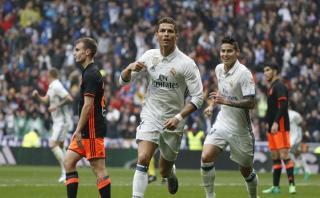 Cristiano Ronaldo logró este nuevo récord tras gol al Valencia