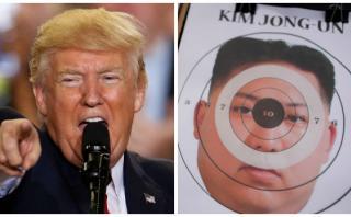 Trump no excluye la acción militar contra Corea del Norte