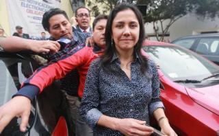 Nadine Heredia citada a comisión Lava Jato para este viernes