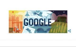 Google rinde homenaje al Día del Trabajo con este doodle