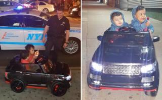 2 hermanitos fueron 'detenidos' por la policía [VIDEO]