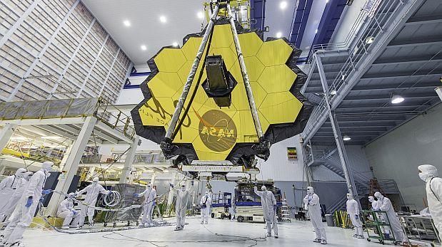 El sucesor del telescopio Hubble supera nueva prueba de la NASA