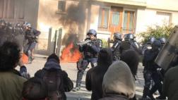 Francia: Seis heridos en marcha y sigue la campaña presidencial