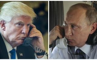 Trump y Putin conversarán este martes por teléfono