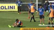 Boca Juniors: juvenil alteró al capitán Pablo Pérez y esto pasó