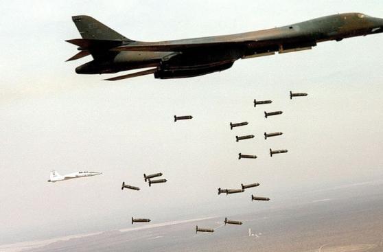 Los aviones nucleares de EE.UU. que asustan a Corea del Norte