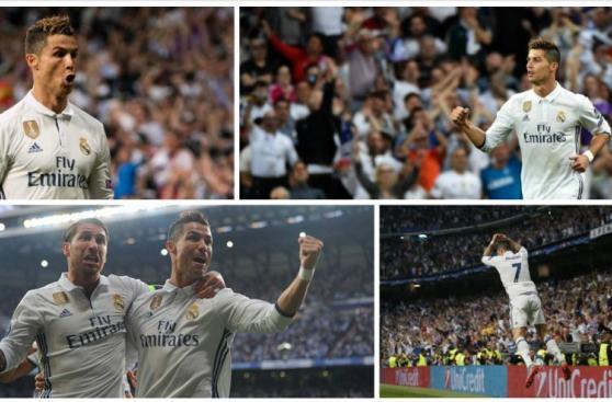 Cristiano Ronaldo: la alegría y el festejo del portugués