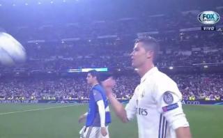 Cristiano Ronaldo: ¿A quién le regaló el balón del 'hat trick'?