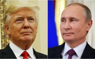 Trump y Putin acuerdan cooperar sobre Siria y Corea del Norte