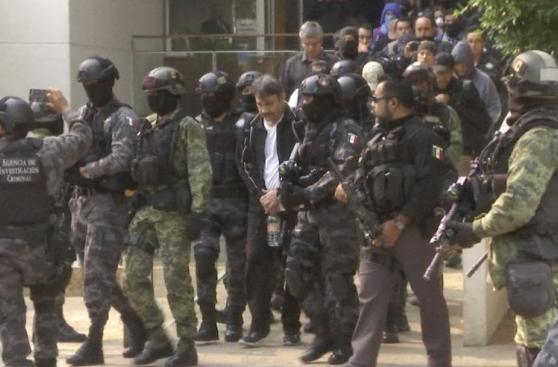 El impresionante traslado del sucesor de 'El Chapo' Guzmán