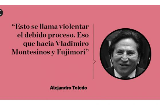 Toledo insiste en que no ha cometido ningún delito [FRASES]