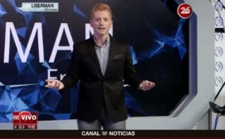 Liberman arremetió contra los argentinos que odian a Cristiano