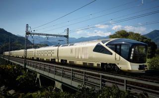 Así luce por dentro el tren más lujoso de Japón