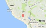 Cuatro temblores se registraron esta mañana en Arequipa