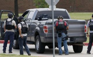 Tiroteo en colegio de Texas dejó 2 muertos [VIDEOS]