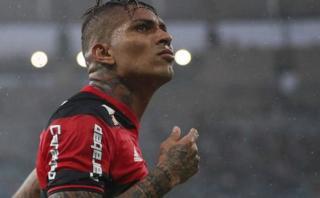 Paolo Guerrero alcanzó su mejor promedio goleador en Flamengo