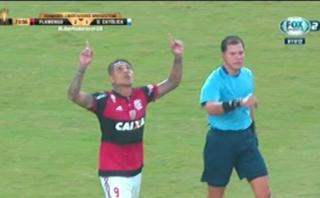 Paolo Guerrero: disparo cruzado letal para gol en Libertadores