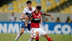 Con goles de Guerrero y Trauco: Flamengo ganó 3-1 a la Católica