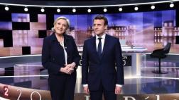 Francia: Los dardos de Macron y Le Pen en un acalorado debate