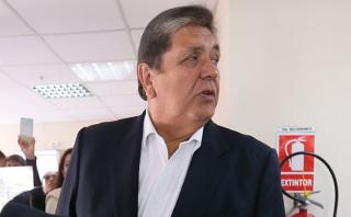 """Alan García: """"Recibí a todas las empresas, ninguna me coimeó"""""""