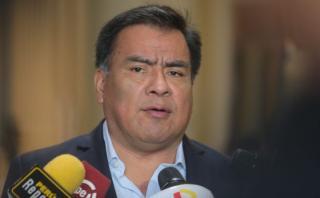 """Velásquez Quesquén: """"No tenemos nada que ver con Odebrecht"""""""