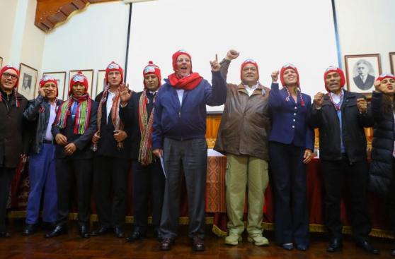 PPK realizó labores en Cusco para enfrentar el friaje [FOTOS]