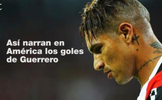 Paolo Guerrero: las diferentes narraciones de sus goles en Copa