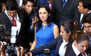 Nadine Heredia no asistirá mañana a la Comisión Lava Jato