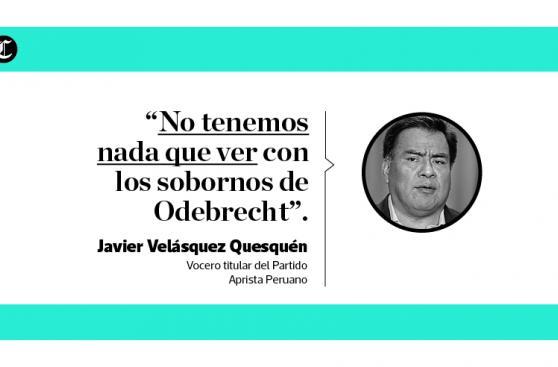 García y reacciones sobre su presunto nexo con Caso Lava Jato