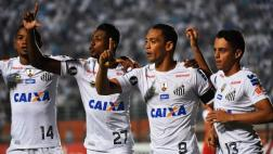 Santa Fe cayó 3-2 ante Santos por el Grupo 2 de la Libertadores