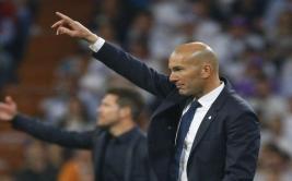 Zidane opinó sobre la polémica pancarta del Santiago Bernabéu