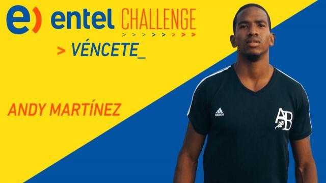 Andy Martínez: Mi objetivo es llegar a los Juegos Olímpicos