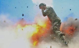 La impactante foto que tomó un soldado de EE.UU. antes de morir
