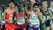 Luis Ostos batió el récord nacional de 10 mil metros en EE.UU.