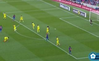 Lionel Messi dejó en el piso a un defensor y marcó este gol