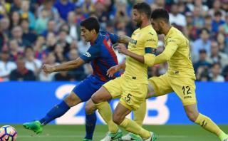 Luis Suárez: un gol en que mezcla regate, potencia y definición