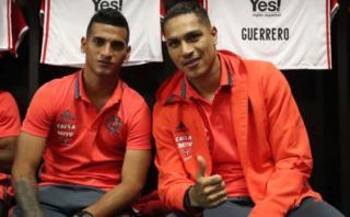 Trauco explicó cómo es su relación con Guerrero en Flamengo