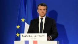 """Macron tras victoria: """"Se abre una nueva página para Francia"""""""