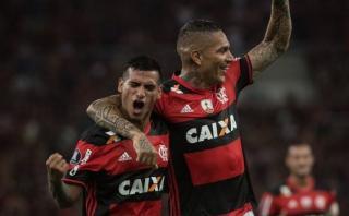 Paolo-Trauco: la foto de los peruanos que se viralizó en Brasil