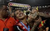 Flamengo destacó primer título de Guerrero con el 'mengao'
