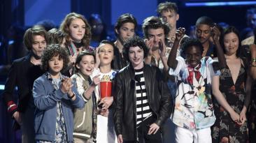 "MTV reunió a elencos de ""13 Reasons Why"" y ""Stranger Things"""