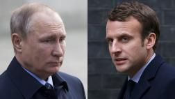 "Putin urge a Macron a ""superar la desconfianza mutua"""