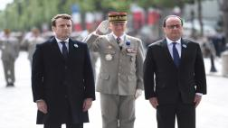 Macron recuerda a las víctimas de la Segunda Guerra Mundial