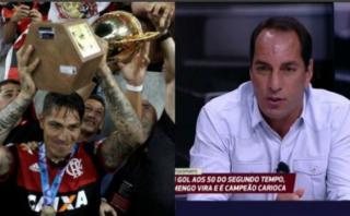 Guerrero: ex mundialista brasileño minimizó al '9' del Flamengo