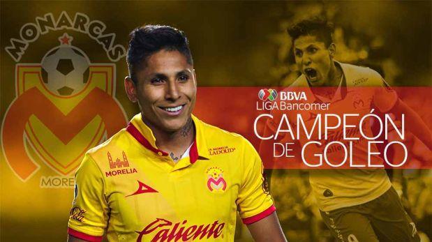 Raúl Ruidíaz se consagró goleador de la fase regular de Liga MX