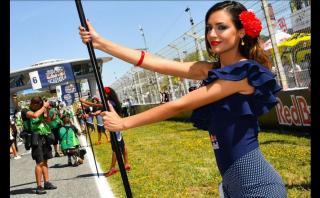 MotoGP: Las Paddock Girls se lucieron en España