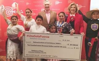 Peruanos en EE.UU. donan US$207.000 a víctimas de inundaciones